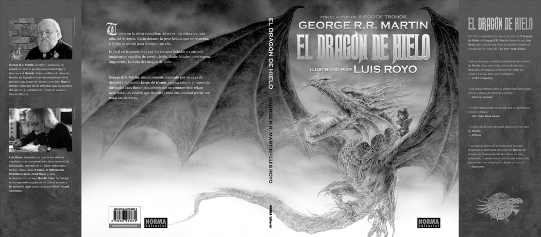 Dragon de Hielo, full cover and interior